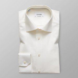 Eton 41/16 Off White Contemporary Fit Dress shirt